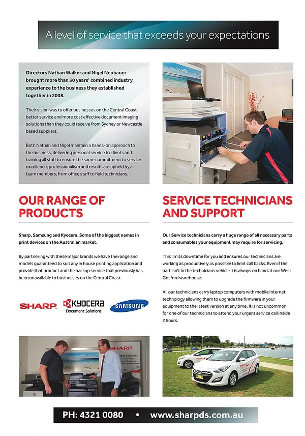 brochure3 - Sharp DS Central Coast
